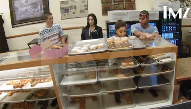 ariana g donut shop