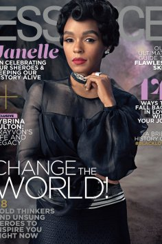 Janelle Monáe Essence February 2017 cover [cred: Essence.com]