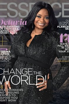 Octavia Spencer Essence February 2017 cover [cred: Essence.com]