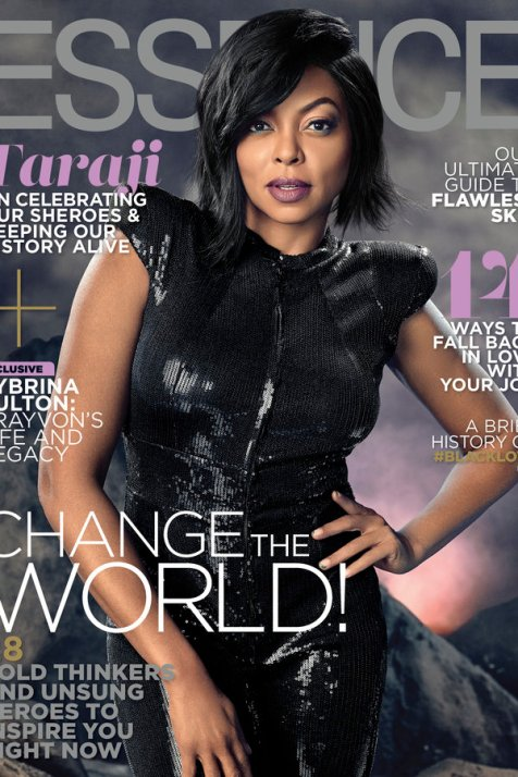 Taraji P. Henson Essence February 2017 cover [cred: Essence.com]